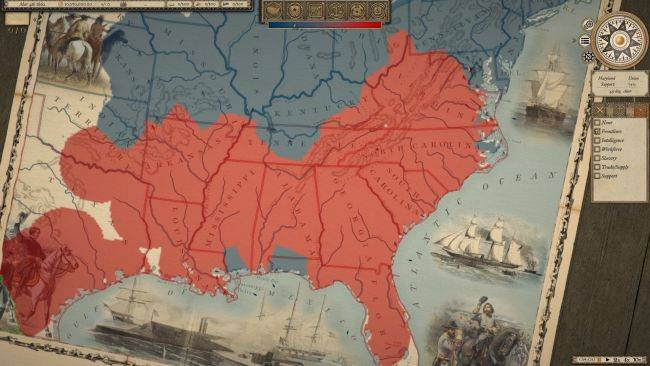 The intricate strategy of Grand Tactician: The Civil War comes to Steam this month