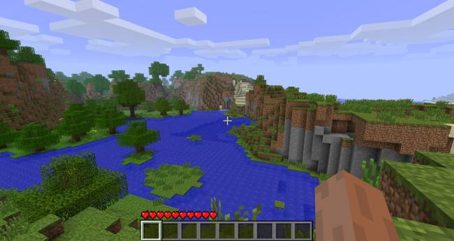 Minecraft combat test removes 'coyote time' and buffs healing