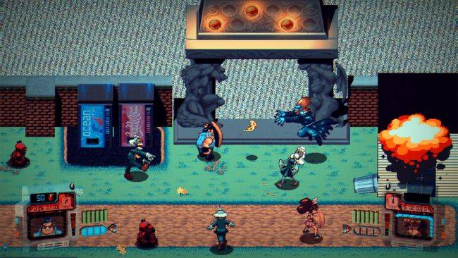 Demons Ate My Neighbors! is a co-op roguelike inspired by a 16-bit classic