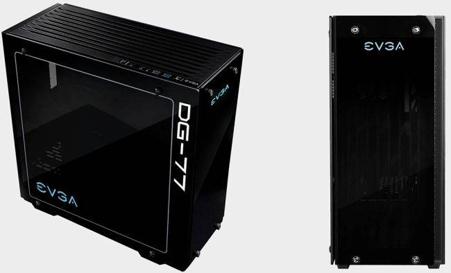 This premium EVGA case with an overclocking button is on sale for $70