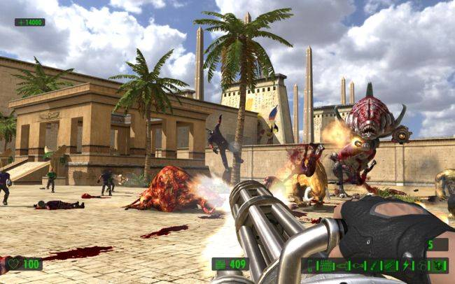 Get Serious Sam: The First Encounter for free in GOG's Harvest Sale