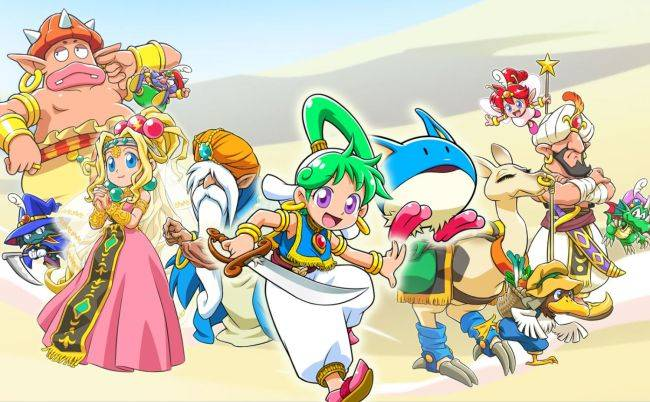 The Wonder Boy revival continues with Asha in Monster World, coming next year