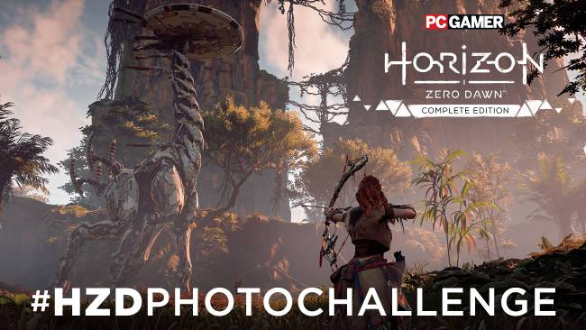 Snap the best photo in Horizon Zero Dawn's Photo Mode and win a custom-built PC
