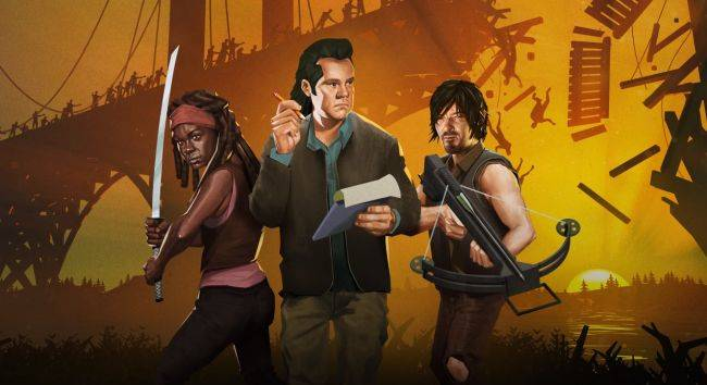 Bridge Constructor: The Walking Dead is the year's weirdest crossover
