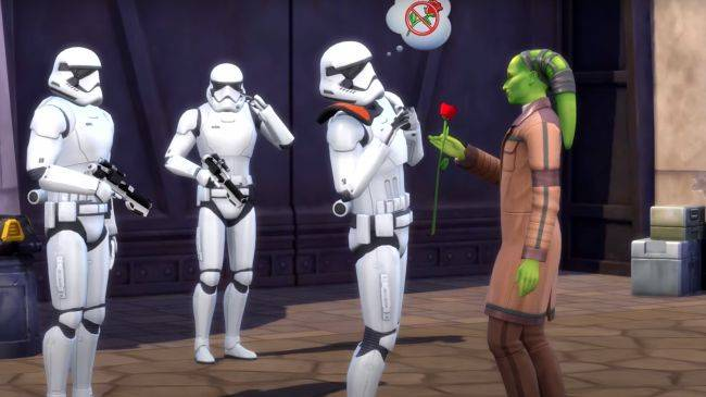 The Sims 4 is getting a Star Wars pack, and it looks pretty great