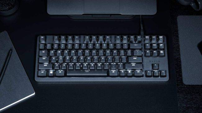 Razer's compact BlackWidow Lite keyboard is on sale for $60 right now