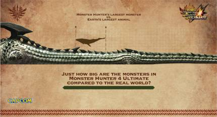 Get A Sense Of Monster Hunter Monster Scale With Collection Of Infographics