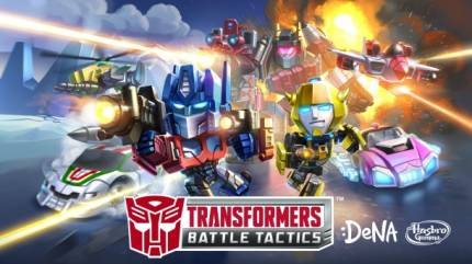 Transfomers: Battle Tactics Heads To Mobile Devices 2015