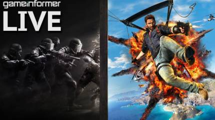 Watch Us Play Two Hours Of Just Cause 3 & Rainbow Six Siege