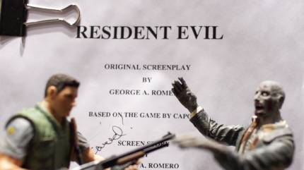 Watch Us Read George Romero's Rejected Resident Evil Movie Script Live