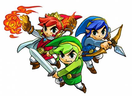 Nintendo Considered Including A Naked Costume In Zelda: Tri Force Heroes