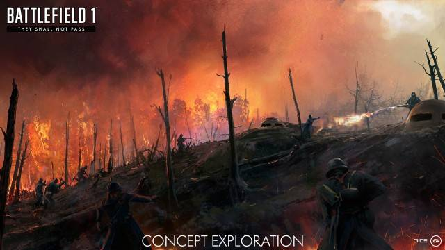 "Battlefield 1 – A Glimpse At ""They Shall Not Pass"" Expansion"