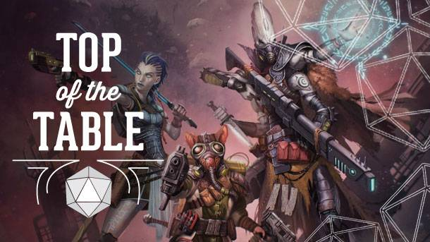 Top Of The Table – The Starfinder Interview