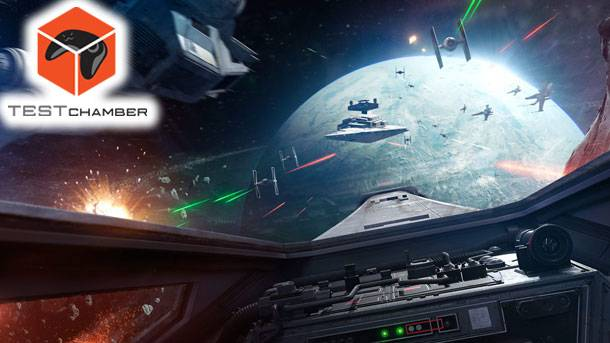 Test Chamber – A Full Playthrough Of Star Wars Battlefront's Rogue One: VR Mission