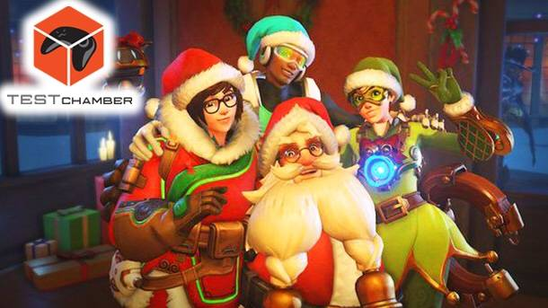 Test Chamber – Overwatch's Winter Wonderland