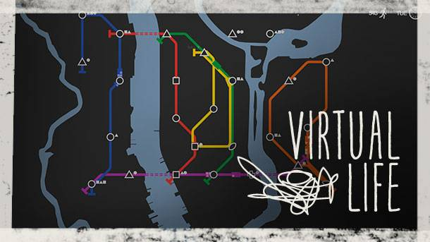 The Virtual Life – Mini Metro and The Beauty Of Rigged Games