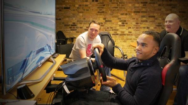 Nicolas Hamilton's Inspirational Shift From Gamer To Race Car Driver