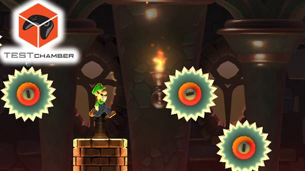 Test Chamber – Super Mario Run's Hardest Level