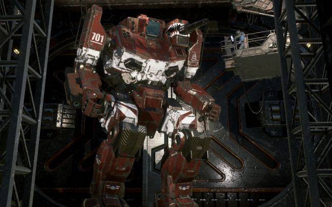 Fully singleplayer MechWarrior 5 announced, coming in 2018