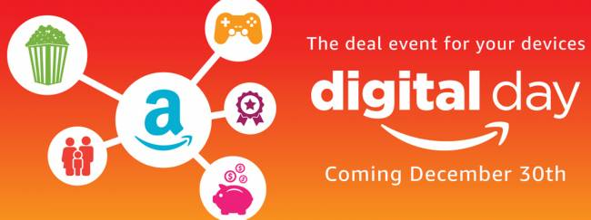 Amazon plans a big digital-only sale for December 30th