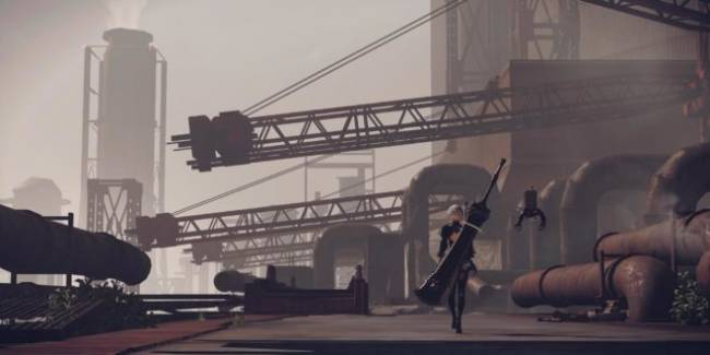 NieR Automata Demo Out Now on PS4