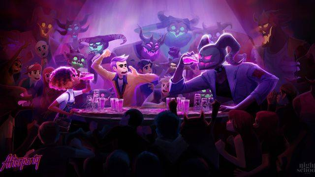 Oxenfree team's next game is about college kids getting drunk with Satan