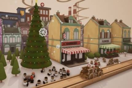 Adorable toy train set builder Tracks is getting a wonderfully festive Winter update tomorrow