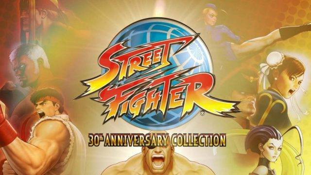 Street Fighter 30th Anniversary Collection Coming to Switch