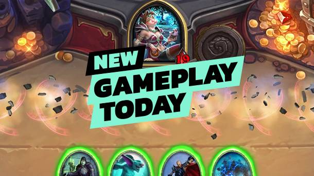 New Gameplay Today – Heartstone's Kobolds And Catacombs Mode