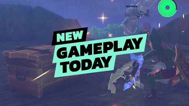 New Gameplay Today – Zelda: Breath Of The Wild's New DLC