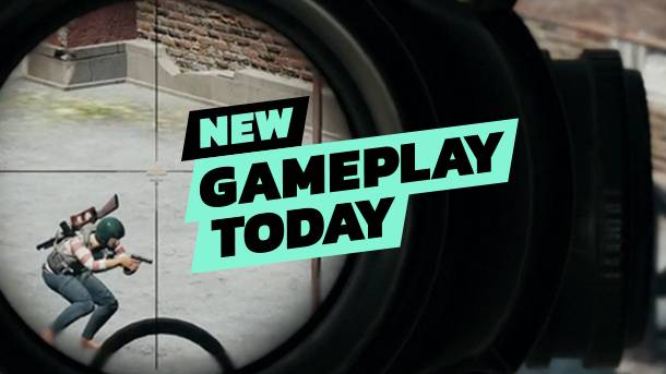 New Gameplay Today – PUBG On Xbox One X