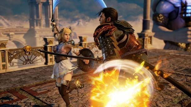 Sophitia Shows Off Her Skills In This Reboot Developer Diary