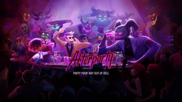 Oxenfree Dev Announces Afterparty, A Game Where You Have To Outdrink Satan To Escape Hell