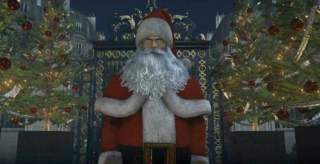 Celebrate the holidays with some free Hitman