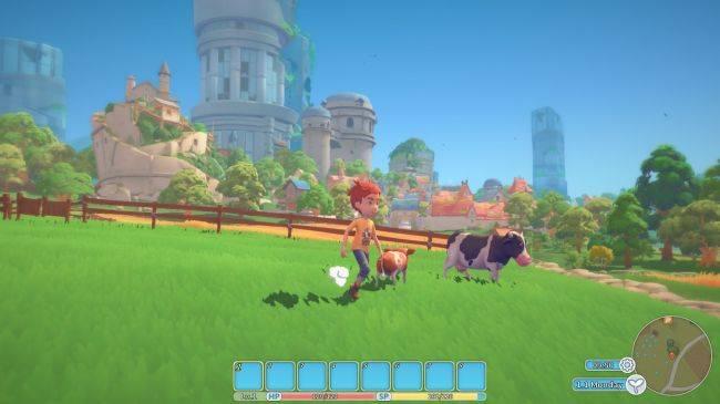 Whimsical sandbox My Time At Portia is due out on early access in January