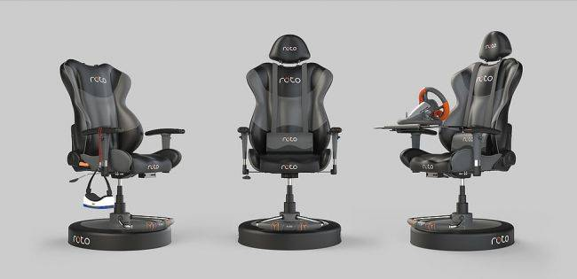Roto VR will finally ship its first batch of spinning chairs in February 2018