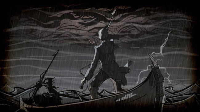 Chase Moby Dick in nautical strategy RPG Nantucket