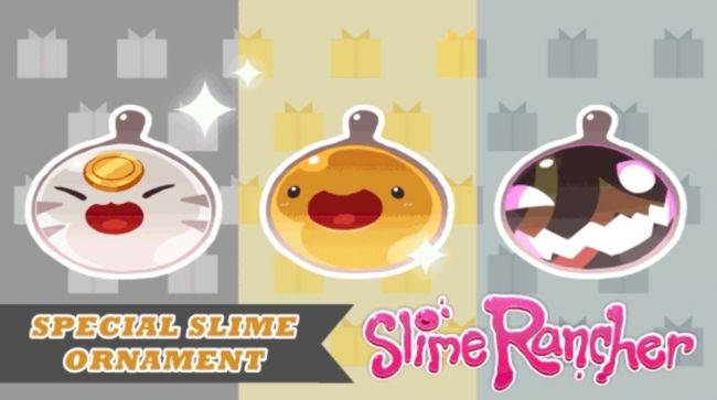 Slime Rancher's Wiggly Wonderland celebrates the holidays with in-game ornaments