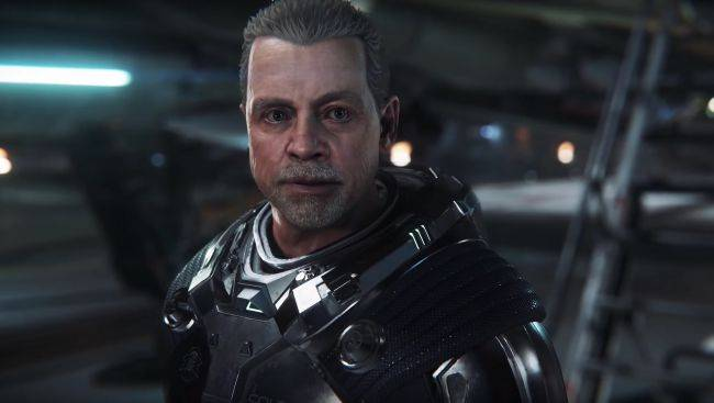 Watch Mark Hamill act like a jerk in a new Squadron 42 single-player cinematic