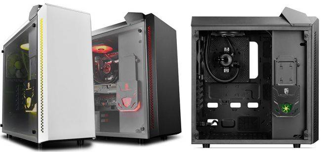 This gaming case has built in liquid cooling