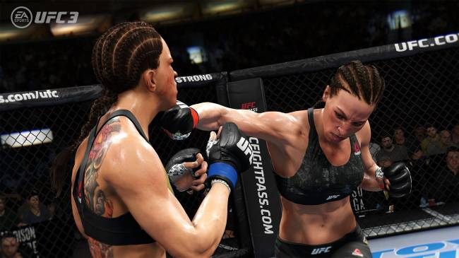 EA's 'UFC 3' beta is live this weekend on Xbox One and PS4
