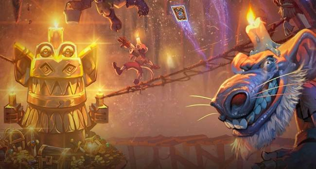 The next 'Hearthstone' expansion is a dungeon-delving adventure