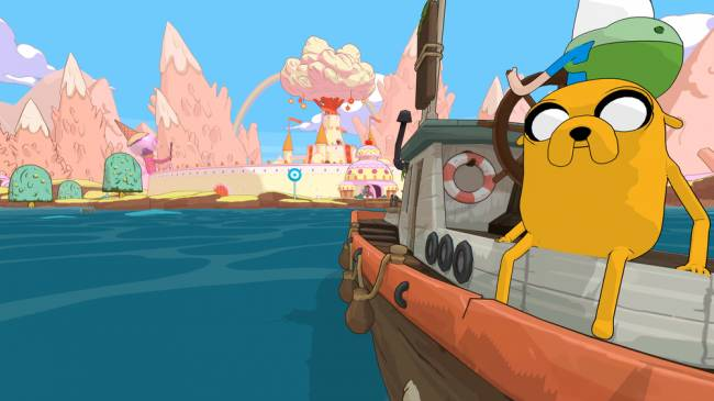 Set sea with your pals in a new 'Adventure Time' game
