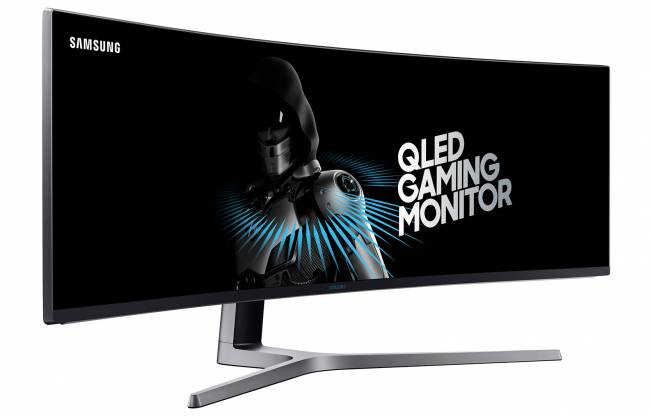 Samsung's mega-wide gaming monitor is first to be HDR certified