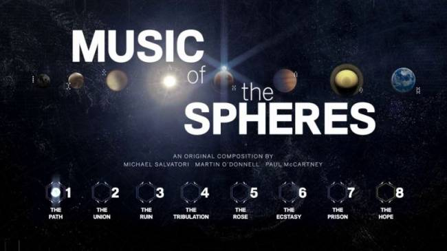Buried 'Destiny' soundtrack 'Music of the Spheres' leaks