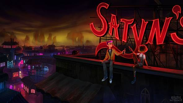 The Oxenfree people are making Afterparty, an adventure game about outdrinking Satan