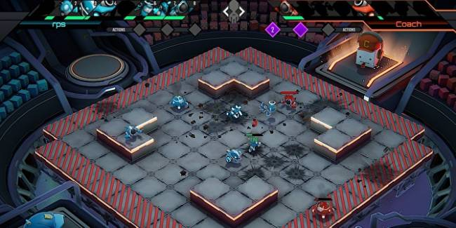 Rust studio's robo-tactics game Clatter whirs out