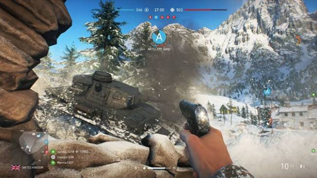 Battlefield V rolling back time-to-kill changes