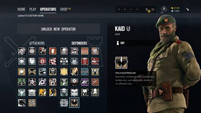 Rainbow Six Siege Kaid: what he can do and how to use him