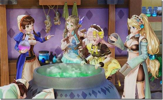 Nelke & the Legendary Alchemists Introduces Some Of The Events Between Legacy Characters